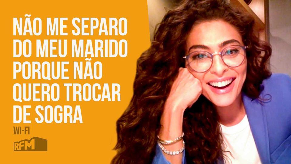 Juliana Paes live no Wi-Fi da RFM