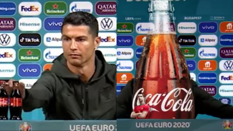 """A """"vingança"""" da Coca-cola: eli..."""