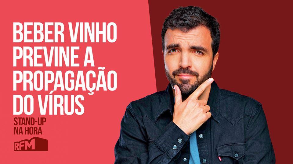 Salvador Martinha: Beber vinho...