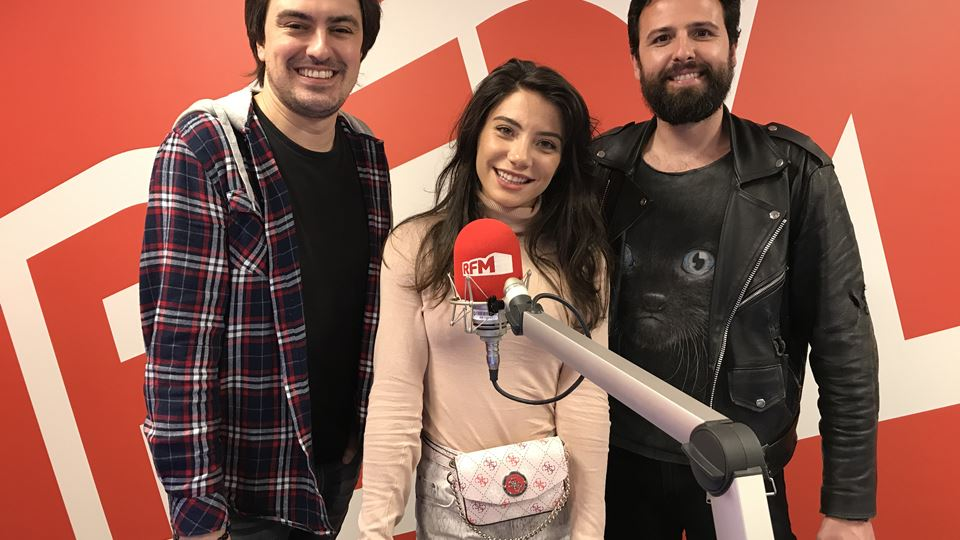 Carolina Carvalho no Wi-fi da RFM