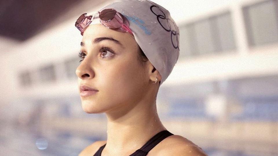 Yusra Mardini empurrou a nado ...